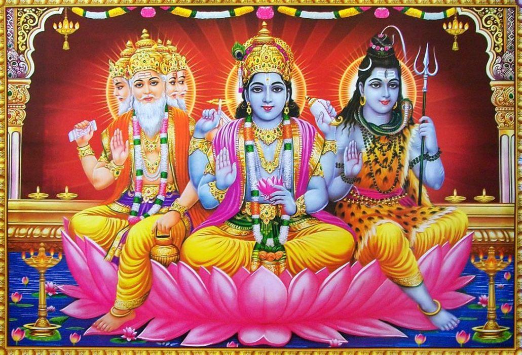Conto Indiano   Um Caso Sobre Brahma, Vishnu e Shiva